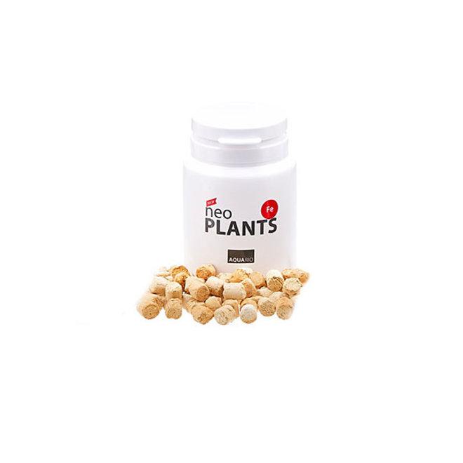 Aquario Neo Plants Fe tabletten, ijzermeststof tegen glazige bladeren