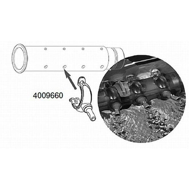 4009660 Eheim installatieset 2 sproeierclips