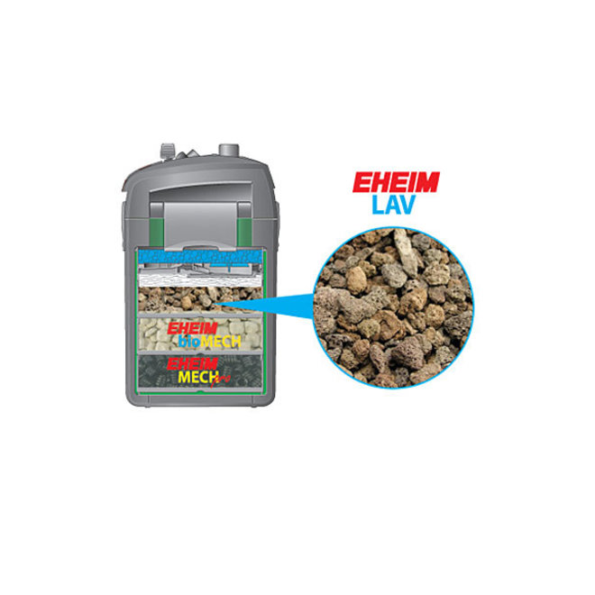 Eheim Lav 2519051, behandeld lavasteen 1 liter