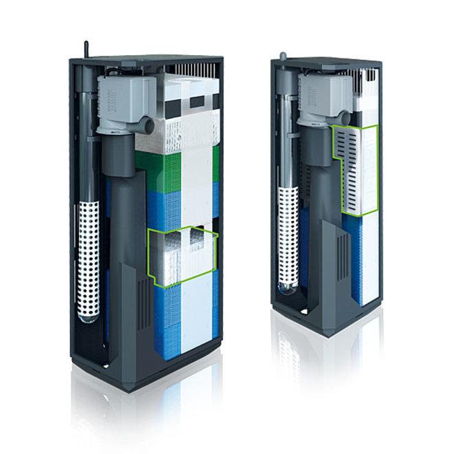 Juwel Cirax L standard 6.0, biologische filtering