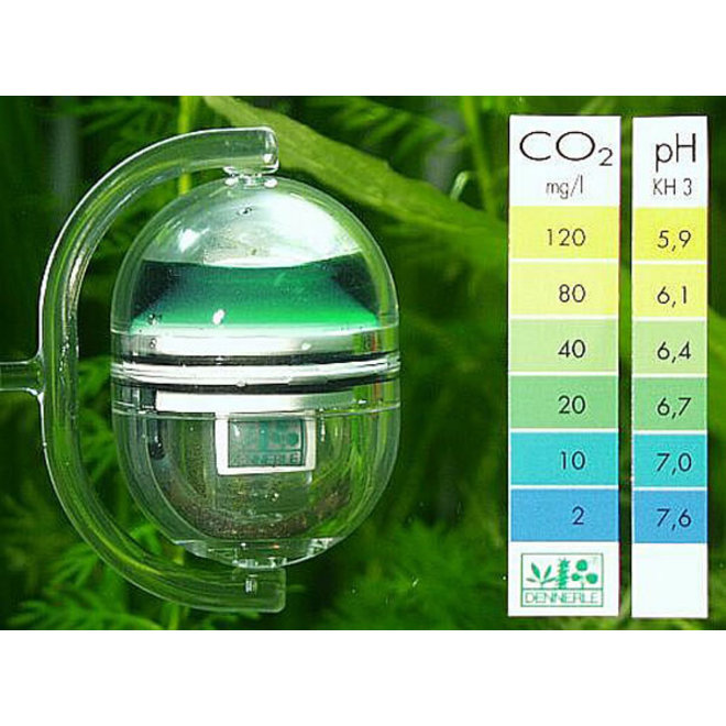 Dennerle CO2 Langetermijntest Correct+ph, CO2 test set
