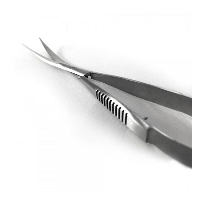 Aquavitro Curved Spring Shears, roestvrij staal gebogen knipschaar
