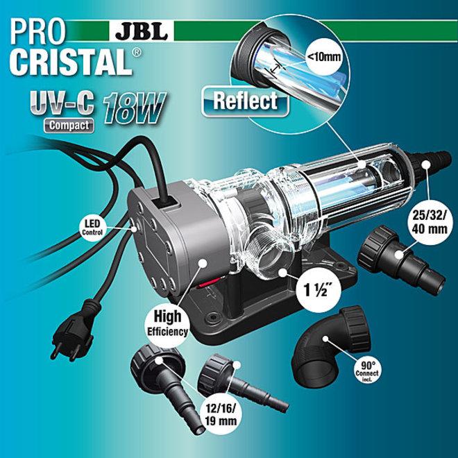 JBL ProCristal Compact UV-C 18 watt