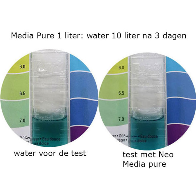 Aquario Neo Media Pure 1 liter, voor neutrale pH