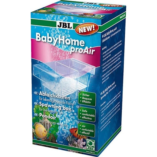JBL Babyhome ProAir, kuitschietbak kweekbak
