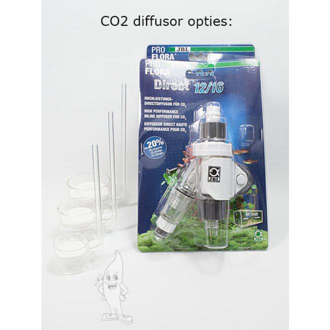 Aquaplantsonline CO2 systeem voor 80-500 liter