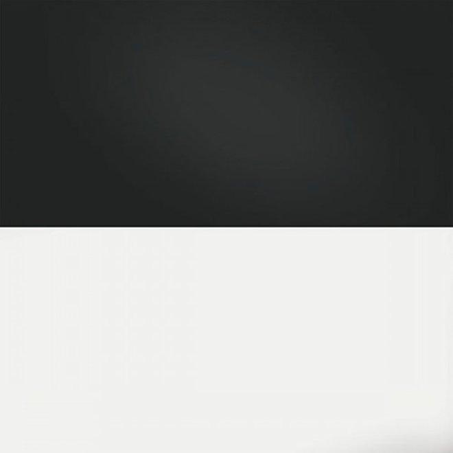 Juwel achterwand poster 3 S 60x30 cm zwart / wit