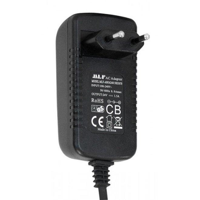 Aquatlantis Voedingsadapter 24V-1,5A voor Easy LED Universal