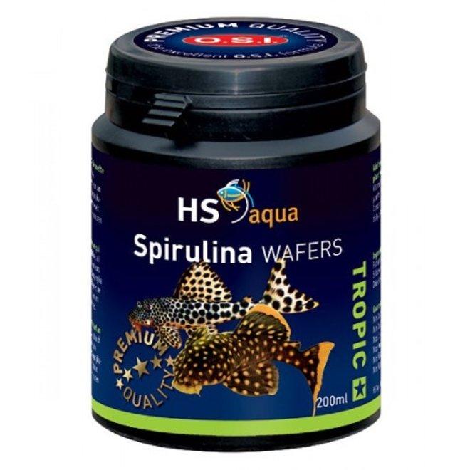 HS Aqua / O.S.I. Spirulina wafers 200 ml, spirulina wafers