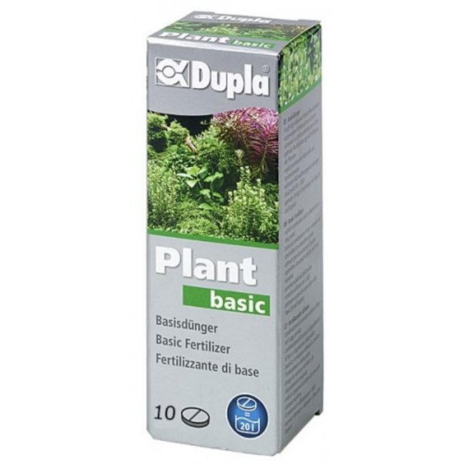 Dupla Plant basic 10 tabletten, ijzer met sporenelementen