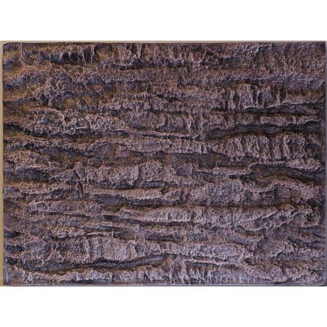 HS Aqua Achterwand Rock Brown 60x45x3 cm