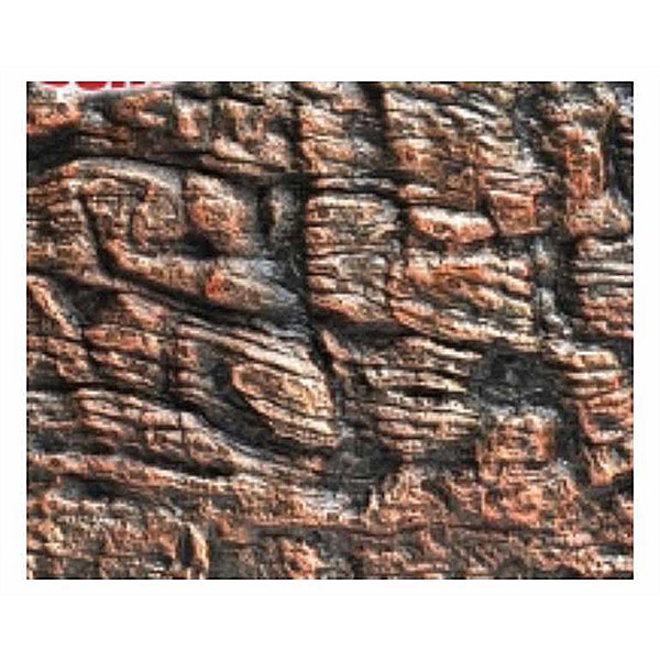 HS Aqua Achterwand Canyon Brown 60x45x3 cm
