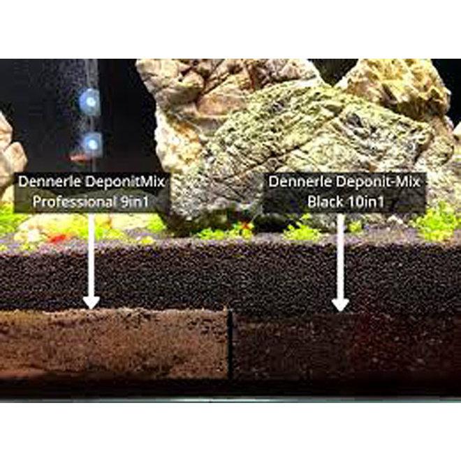 Dennerle Deponit-Mix black 10 in 1 voor aquaria 160-250 liter 9,6 kg