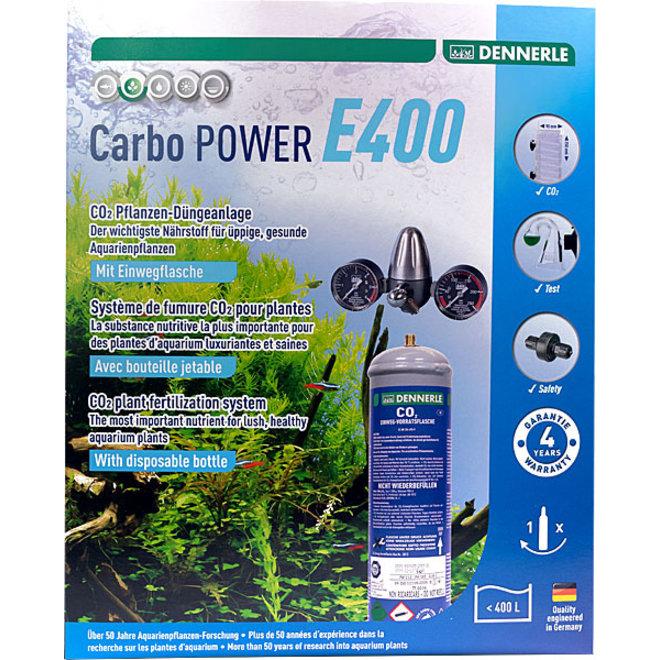 Dennerle Carbo POWER E400 CO2 set met wegwerpfles tot 400 liter