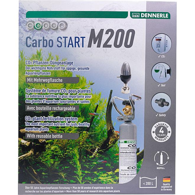 Dennerle Carbo START M200 CO2 set met hervulbare fles tot 200 liter
