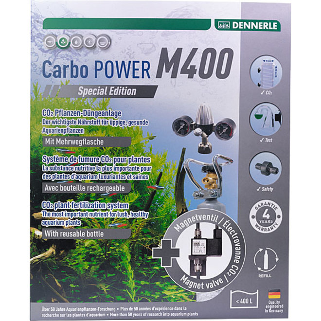 Dennerle Carbo POWER M400 Special Edition CO2 set met hervulbare fles tot 400 liter