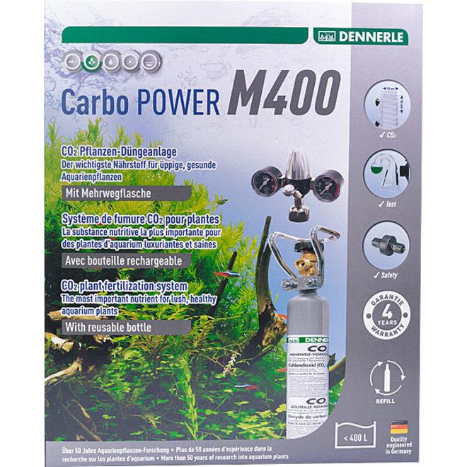 Dennerle Carbo POWER M400 CO2 set met hervulbare fles tot 400 liter