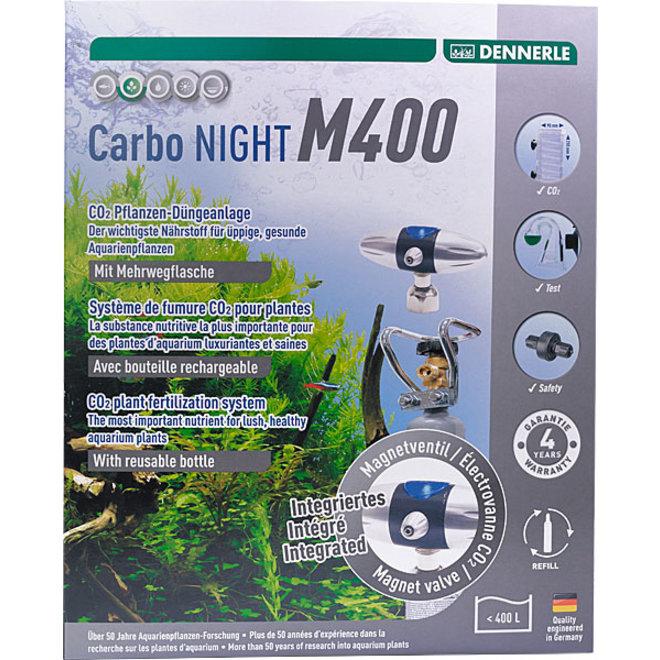 Dennerle Carbo NIGHT M400 CO2 set met hervulbare fles tot 400 liter