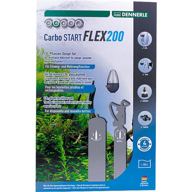 Dennerle Carbo START FLEX200 CO2 set zonder fles tot 200 liter