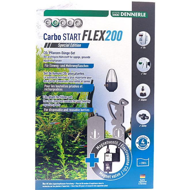 Dennerle Carbo START FLEX200 Special Edition CO2 set zonder fles tot 200 liter