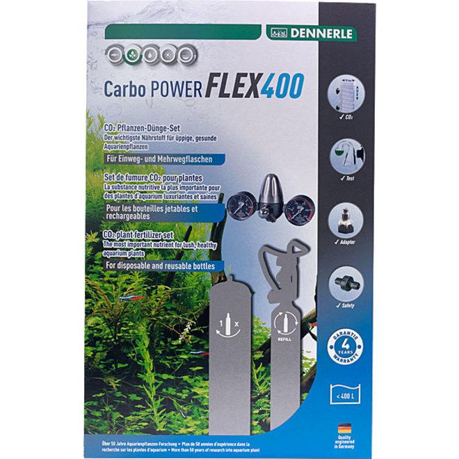 Dennerle Carbo POWER FLEX400 CO2 set zonder fles tot 400 liter