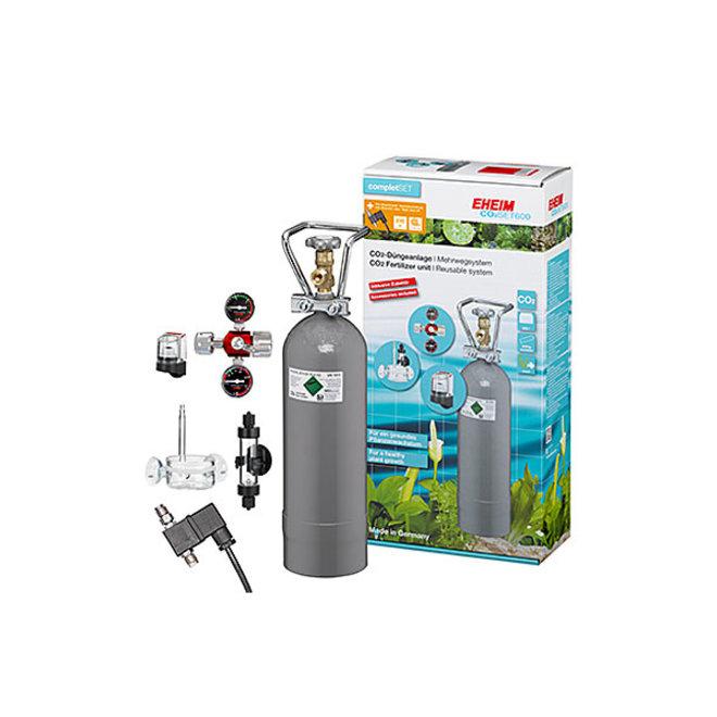 Eheim CO2 Set 600 systeem met hervulbare fles incl. magneetventiel  tot 600 liter