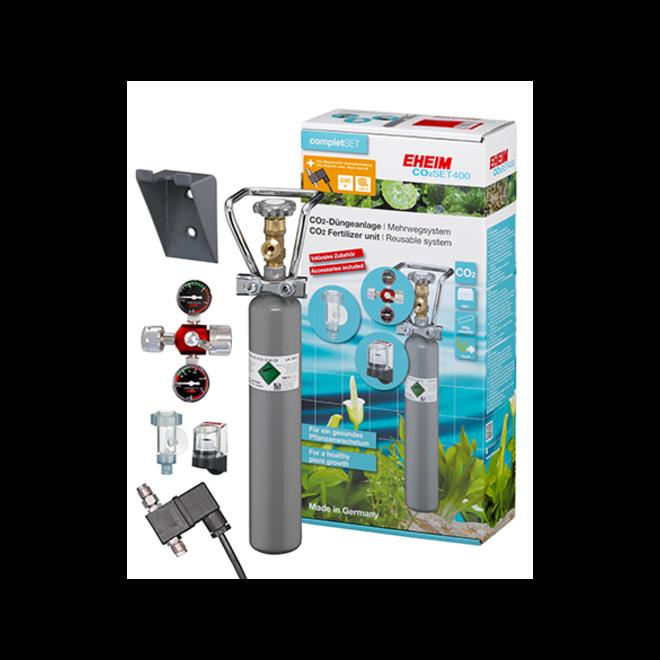 Eheim CO2 Set 400 systeem met hervulbare fles incl. magneetventiel tot 400 liter