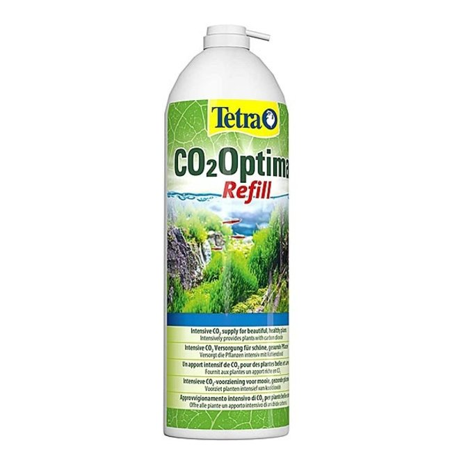 Tetra CO2 Optimat navulfles 650 ml/11 gram