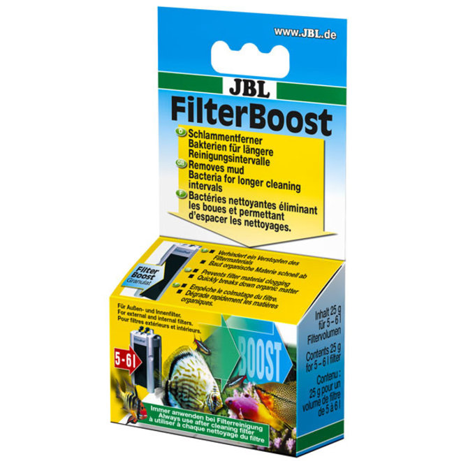 JBL FilterBoost filter optimalisering