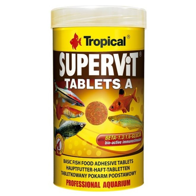 Tropical Supervit Tablets A 250 ml