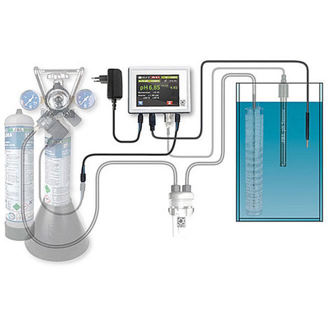 JBL ProFlora CO2 pH Control Meet- en besturingscompute
