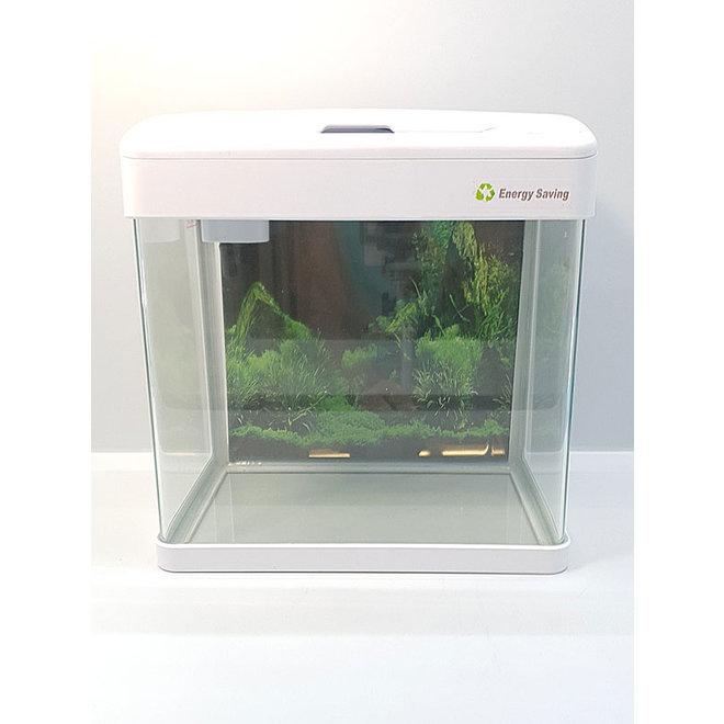 Aqua Nova LED Aquarium 19 liter wit