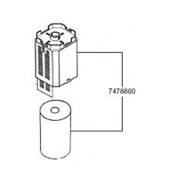 Eheim PowerLine 200 filtermodule met patroon (2048), Upgrade-Kit