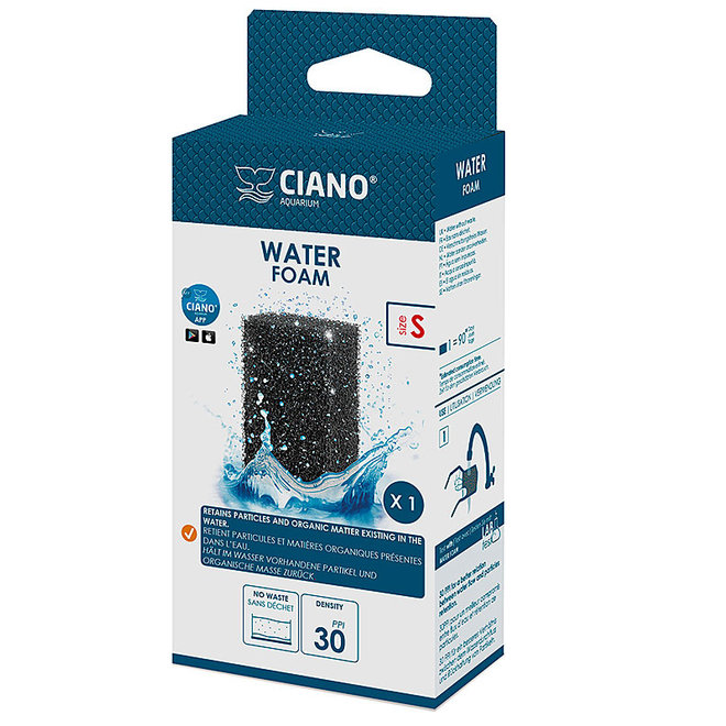 Ciano CF40 Foam patroon small tegen vuildeeltjes