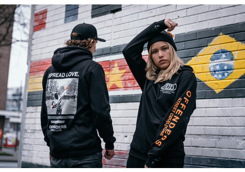 Gajes Street Cou(L)ture Offenders SPREAD LOVE HOODIE