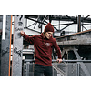 "GAJES Hoodie ""Own Plan"" Burgundy Patch"