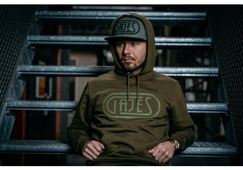 GAJES PASSION OLIVE HOODIE
