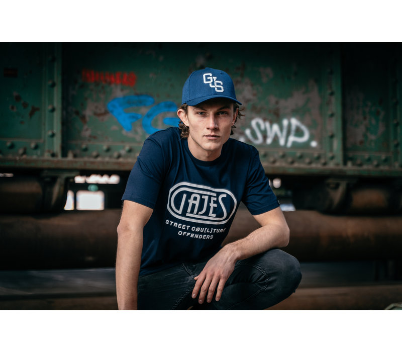 T-Shirt Passion Navy/White