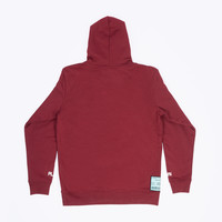 "Hoodie ""Own Plan"" Burgundy Patch"
