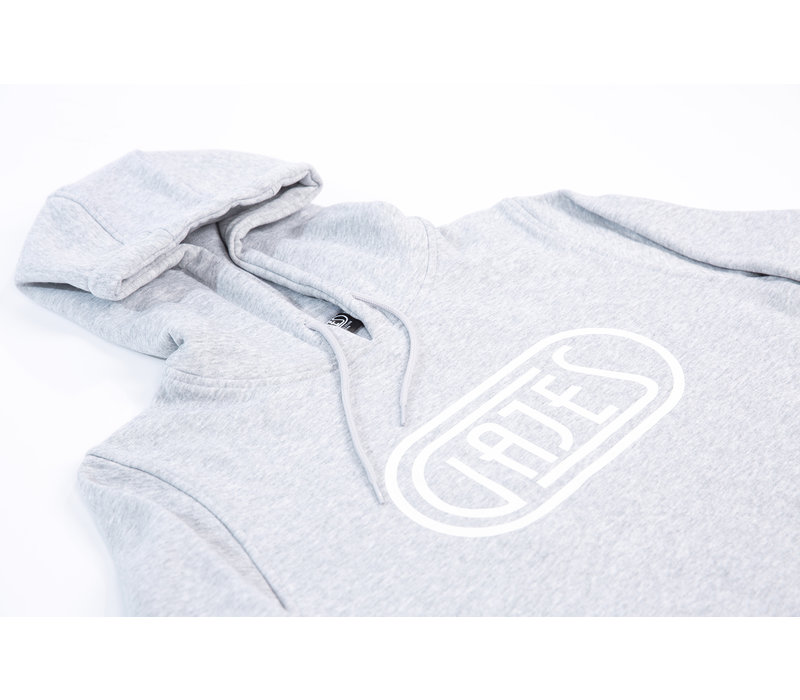 Hoodie Classic Logo Grey/White