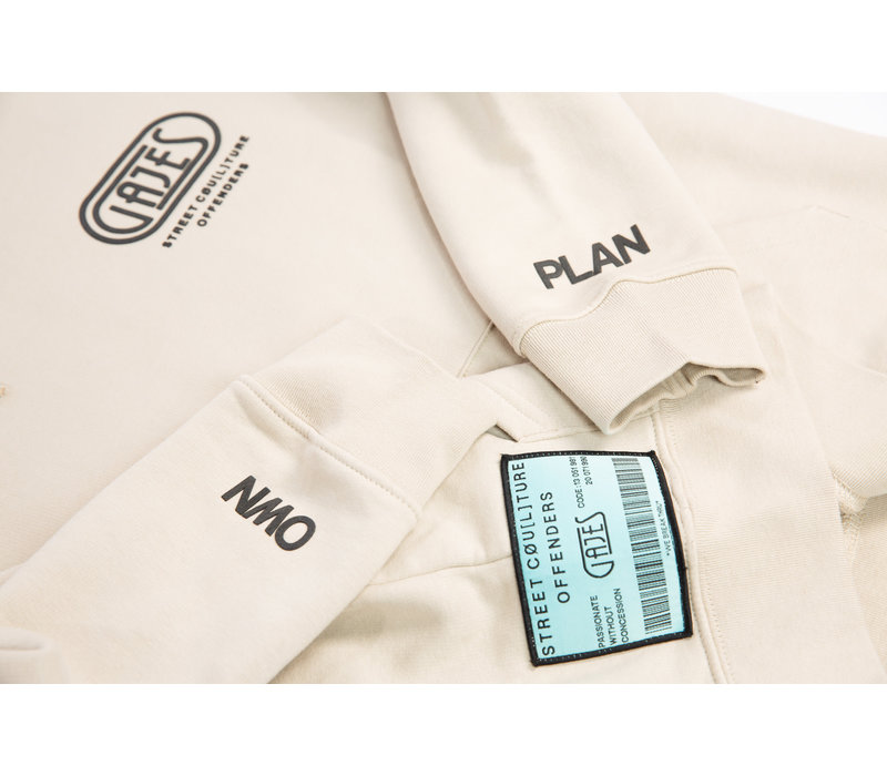 "Hoodie ""Own Plan"" Dust Patch"