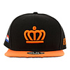 GAJES SNAPBACK CAP KING BLACK