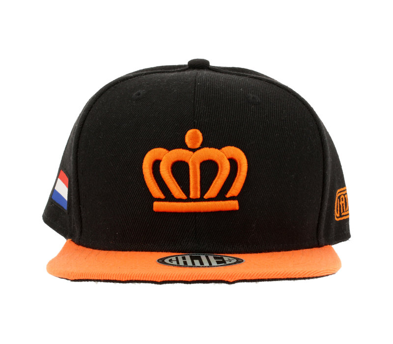 SNAPBACK CAP KING BLACK