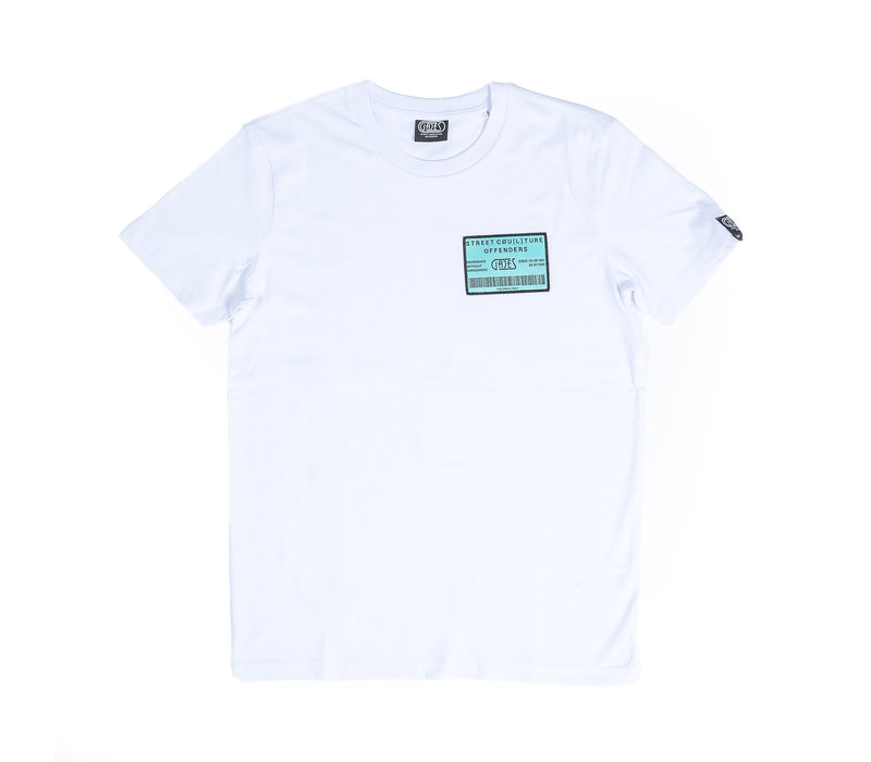 T-Shirt Own Plan Mint/White