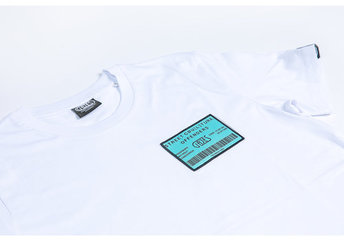 GAJES T-Shirt Own Plan Mint/White