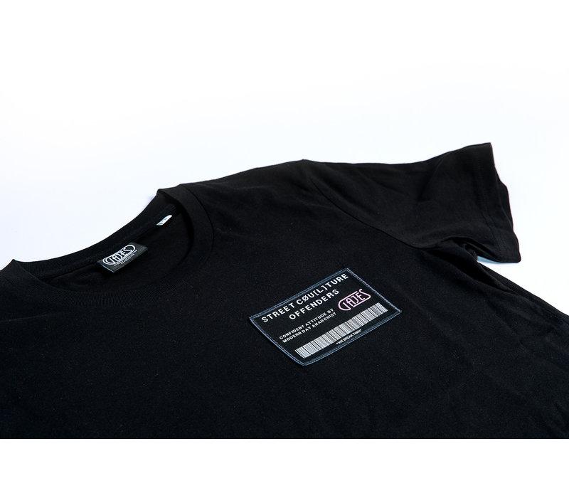 T-Shirt Own Plan Black/Pink