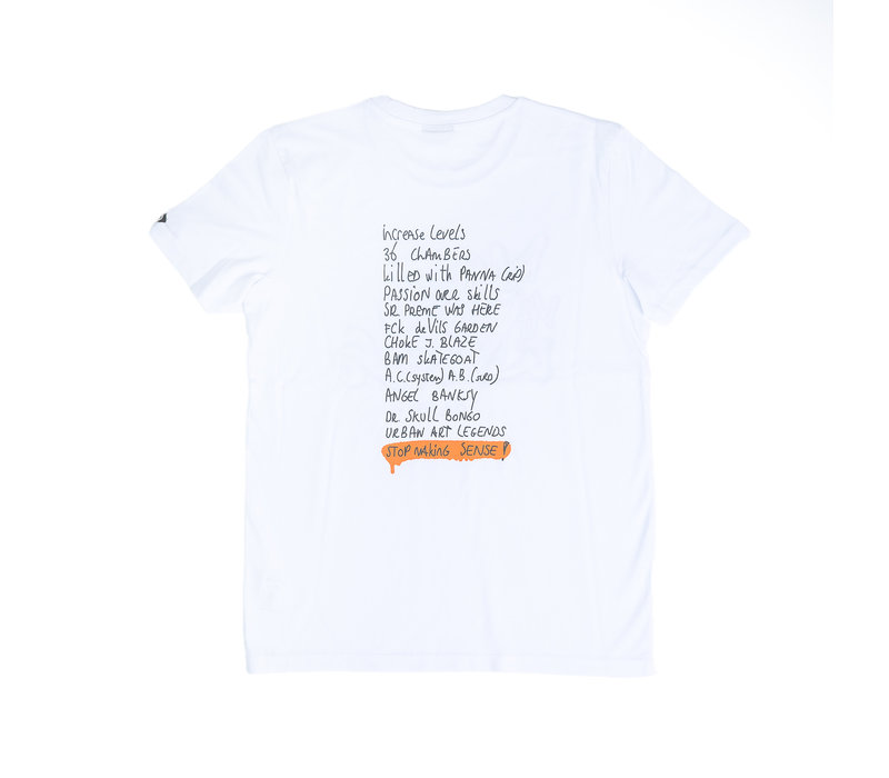 T-SHIRT MARK WHITE