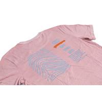 T-SHIRT VANCE PINK/GREY