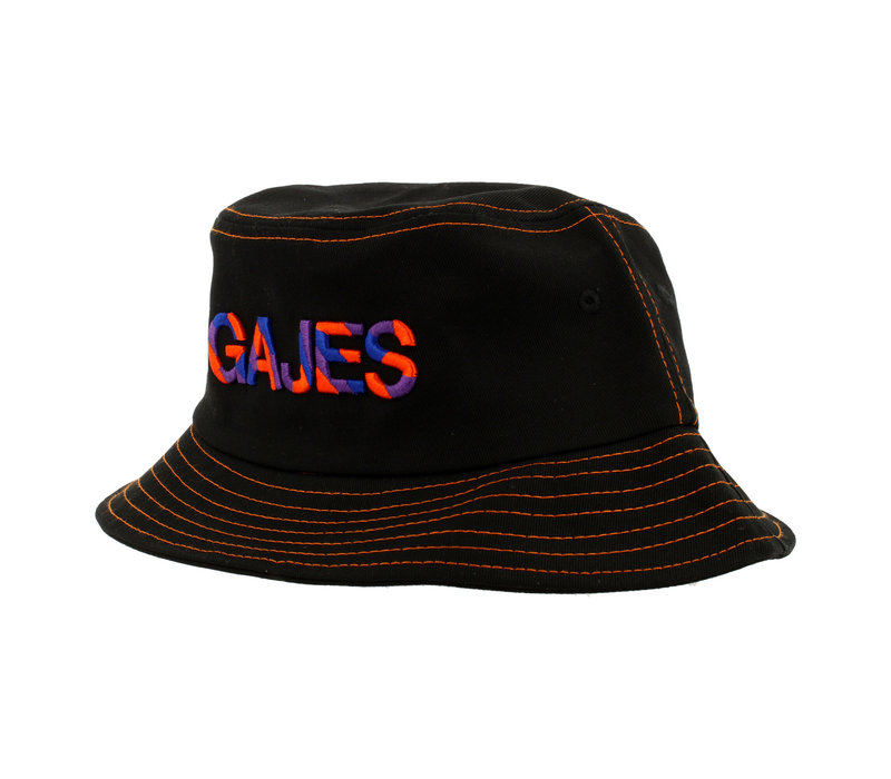 FISHERMAN HAT FLOYD BLACK