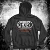 GAJES Gajes Black/Neon Oranje Hoodie